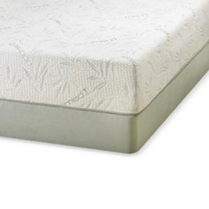 "10"" Memory Gel Foam Mattress Set with Boxspring"