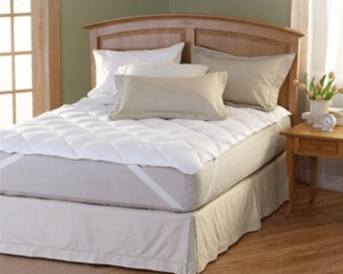 Image of Premium Quilted Mattress Pad- Anchor Band