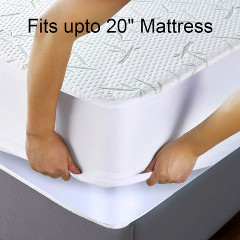 Image of Swiss Bamboo - Jacquard Bamboo Waterproof Mattress Protector
