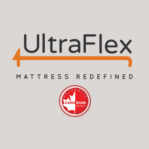 Ultraflex Orthopedic Mattress Set with Boxspring
