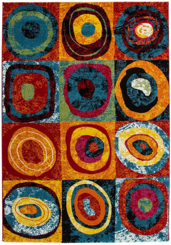 Image of FurnitureMattressDirect- AREA RUG - 091 - 26x49 -1