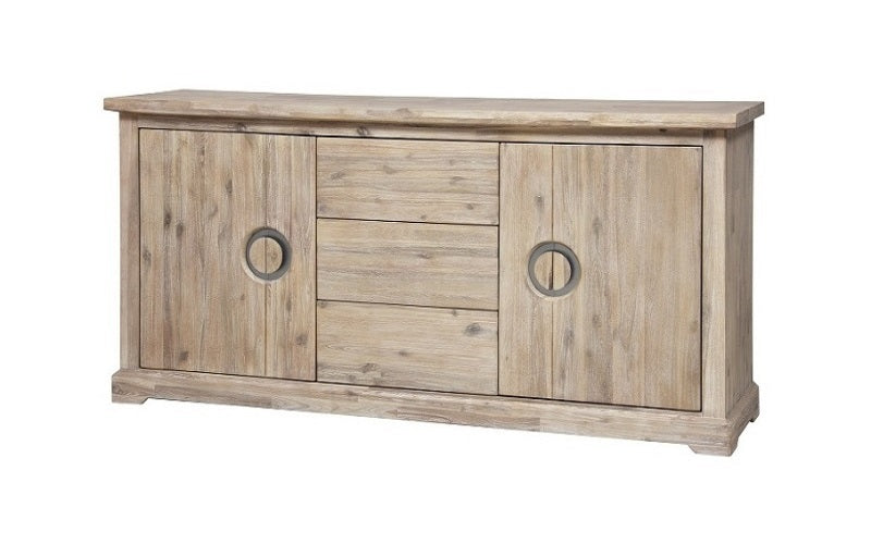 FurnitureMattressDirect- Distressed Driftwood Sideboard and Server