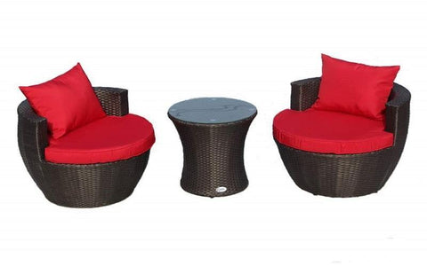 FurnitureMattressDirect- Outdoor Bistro Set - 3 pc01