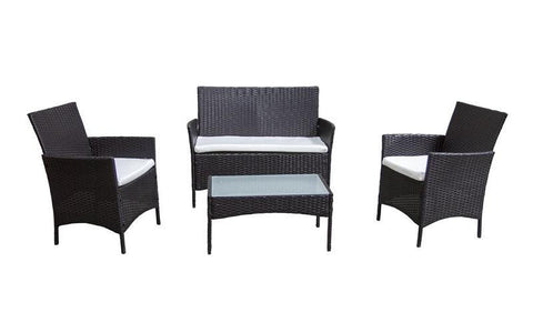 Image of FurnitureMattressDirect- Outdoor Seating Set - 4 pc1