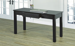 FurnitureMattressDirect- Solid Wood Desk - Espresso