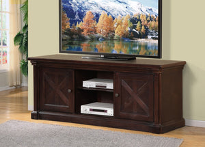 FurnitureMattressDirect- TV STAND - ESPRESSO FINISH