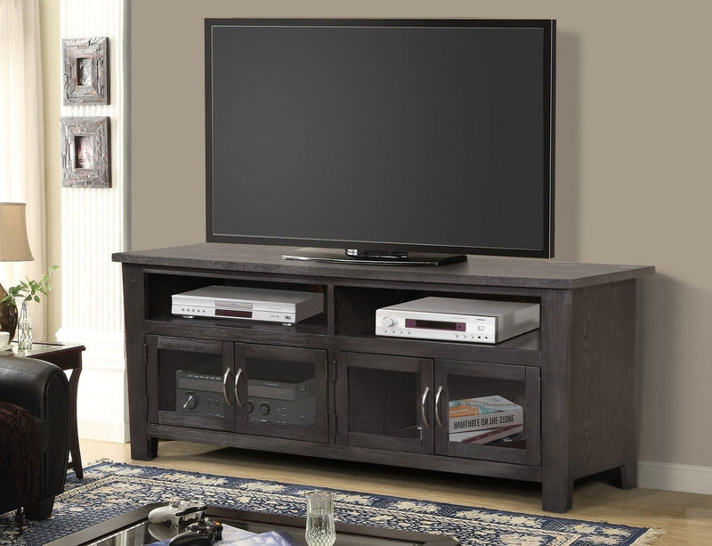 TV STAND - GREY FINISH