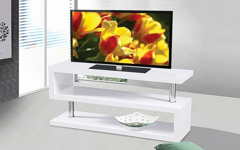 FurnitureMattressDirect- TV Stand - 1006 Series (White)