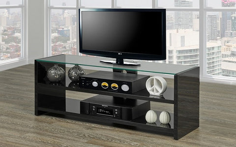 FurnitureMattressDirect- TV Stand - 1007 Series (Black)
