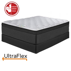 FurnitureMattressDirect- ultraFLEX Euro Top Mattress