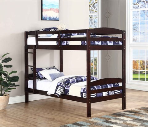 FurnitureMattressDirect⁽ᴰᵉᵃˡˢ⁾- Bunk Bed- Espresso