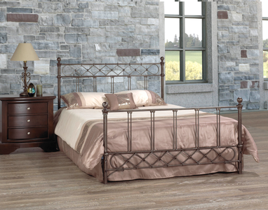 FurnitureMattressDirect-HeadBoard-Distressed Bronze Finish A39