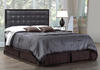 FurnitureMattressDirect-Headboard-Tufted Black Upholstered Headboard- A53