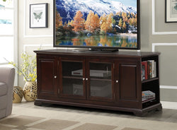 FURNITUREMATTRESSDIRECT-TV STAND-ESPRESSO FINISH F-TS116