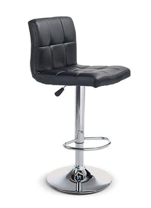 FURNITUREMATTRESSDIRECT-BAR STOOL ADJUSTABLE WITH SWIVEL IN BLACK D-BS119