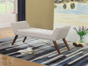 FURNITUREMATTRESSDIRECT-Storage Bench/Lounger in Beige FB105