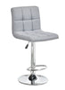FURNITUREMATTRESSDIRECT-BAR STOOL ADJUSTABLE WITH SWIVEL IN GREY D-BS116