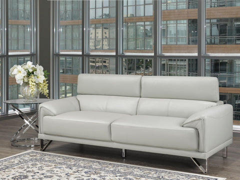 Image of REBECCA SOFA WITH ADJUSTABLE HEADREST