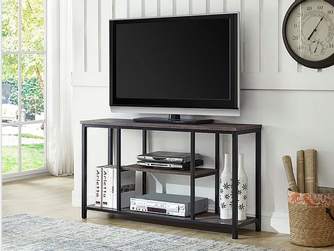 TV Stand-Distressed Wood