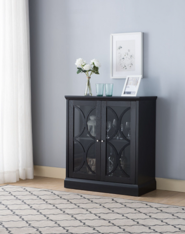 Image of STORAGE CABINET - BLACK