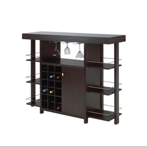 BAR UNIT - DARK CHERRY