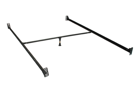 furnituremattressdirect-Metal Bed Frame Bolt on Rail