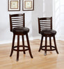 FURNITUREMATTRESSDIRECT-BAR STOOL WITH SWIVEL IN ESPRESSO D-BS130