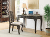 FurnitureMattressDirect-SOLID WOOD DESK & CHAIR SET - GREY WASH FINISH