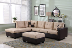 FURNITUREMATTRESSDIRECT-EASY RIDER SECTIONAL SET