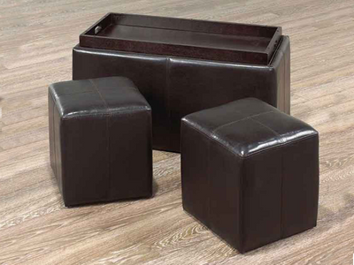 FURNITUREMATTRESSDIRECT-Bench with Storage and 2 Cubes