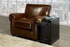 FURNITUREMATTRESSDIRECT-CHAIRSIDE END TABLE IN BLACK ET100