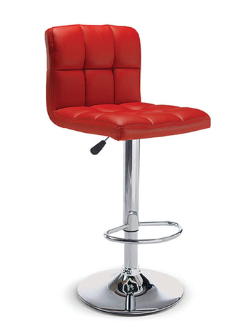 FURITUREMATTRESSDIRECT-BAR STOOL ADJUSTABLE WITH SWIVEL IN BLACK D-BS118