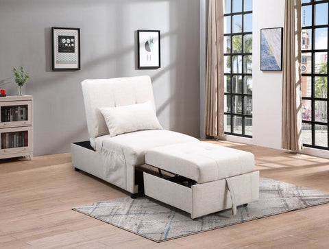 Image of Convertible SofaBed in White