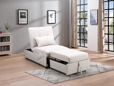 Convertible SofaBed in White
