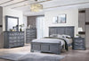 Grey Colour Bedroom Set