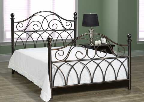 FURNITUREMATTRESSDIRECT-HEADBOARD- HAMMERED BRONZE G-HB101