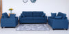 Sofa Set - 3 Piece - Blue