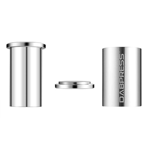 Dabpress Large Cylinder Rosin Pre-Press Mold | Stainless Steel - 13Leafz