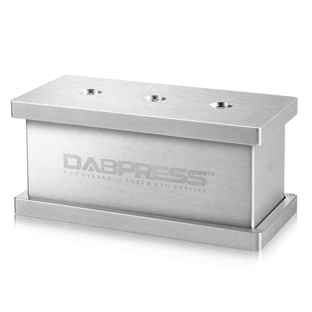 Dabpress 2-in-1 Pre Press Mold - Universal Puck Maker | Made of Aluminum - 13Leafz