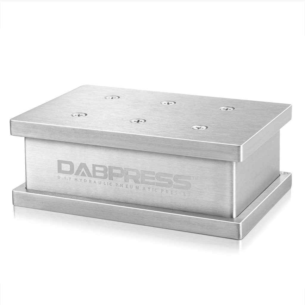 "Dabpress Universal Pre Press Mold | For 2x3"" and 3x3"" Rectangle Pucks - 13Leafz"