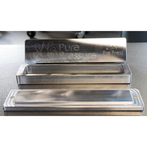 "Pure Pressure Rosin Pre-Press Molds | Available Sizes: 2x3"" - 2x9"" - 2.5x9 - 13Leafz"