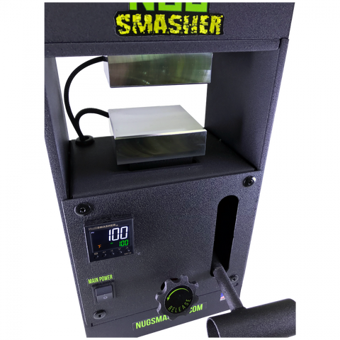 NugSmasher Original Personal Manual Rosin Press | 12 Ton - 13Leafz
