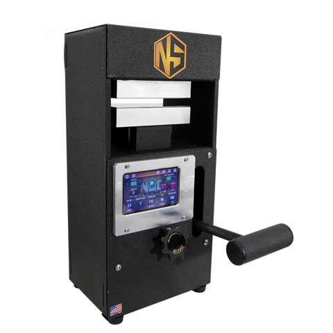 NugSmasher Touch Manual Rosin Press | 12 Ton - 13Leafz