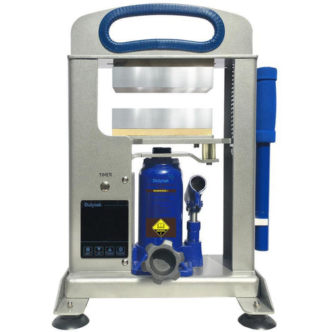 Dulytek DHP7 V3 All-In-One Hydraulic Rosin Heat Press | 7 Ton - 13Leafz