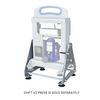 Image of Dulytek Driptech Mount Stand for DHP7 V3 Rosin Press - 13Leafz
