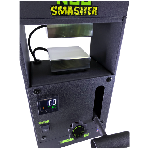 NugSmasher Original 12 Ton Manual Rosin Press Basic Bundle - 13Leafz