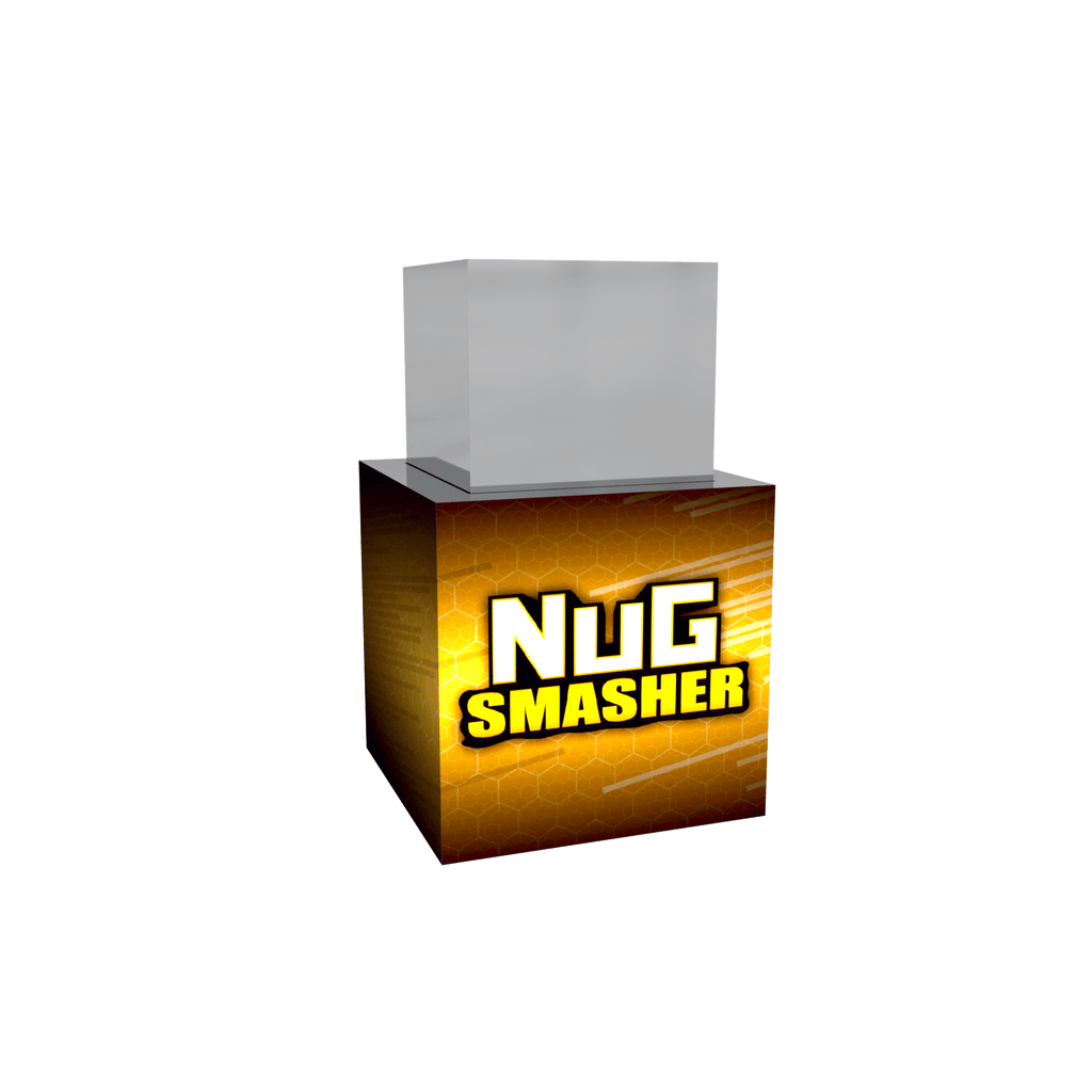 Nugsmasher Pre Press Mold Large Square - 13Leafz