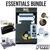 Image of NugSmasher Pro 20 Ton Pneumatic / Manual Rosin Press | Essentials Bundle - 13Leafz
