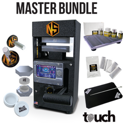 NugSmasher Touch 12 Ton Manual Rosin Press | Master Bundle - 13Leafz