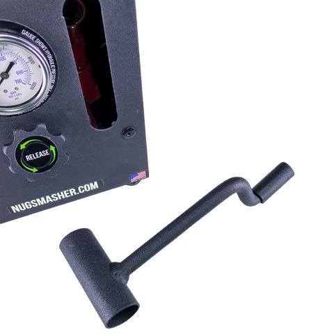 NugSmasher XP 12 Ton Rosin Press Master Bundle - 13Leafz